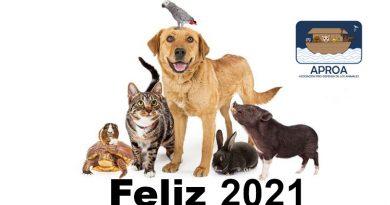 APROA les desea un 2021 pleno de bendiciones