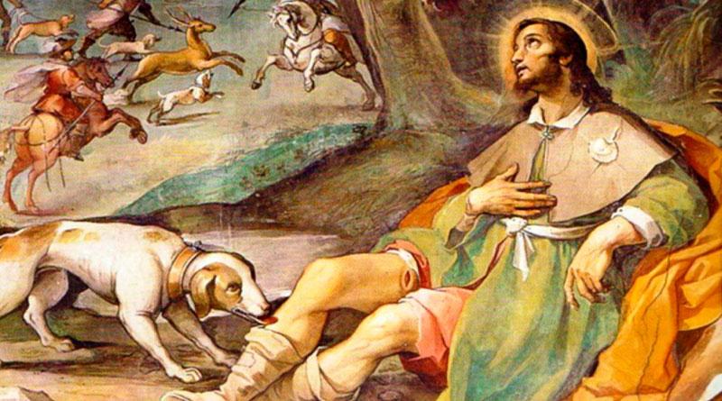 San Roque: patrono de enfermos y mascotas